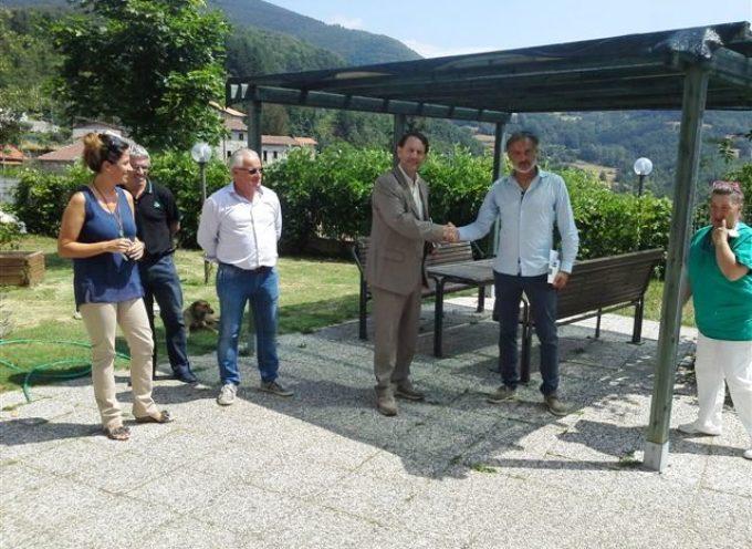 Il Vice Commissario Polimeni e il Sindaco Pagani visitano la RSA di Magliano
