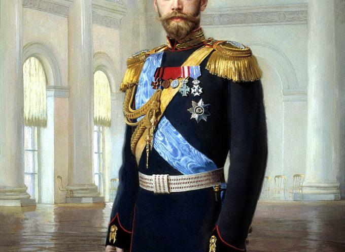 17 Luglio 1918, L'eccidio dello Zar Nicola II e di tutta la sua Famiglia