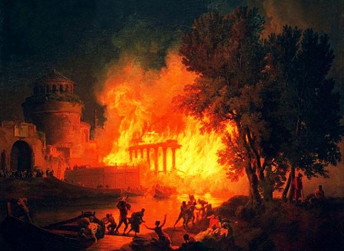 18 Luglio 64, Roma brucia! Nerone non suonò la lira e forse i Cristiani…