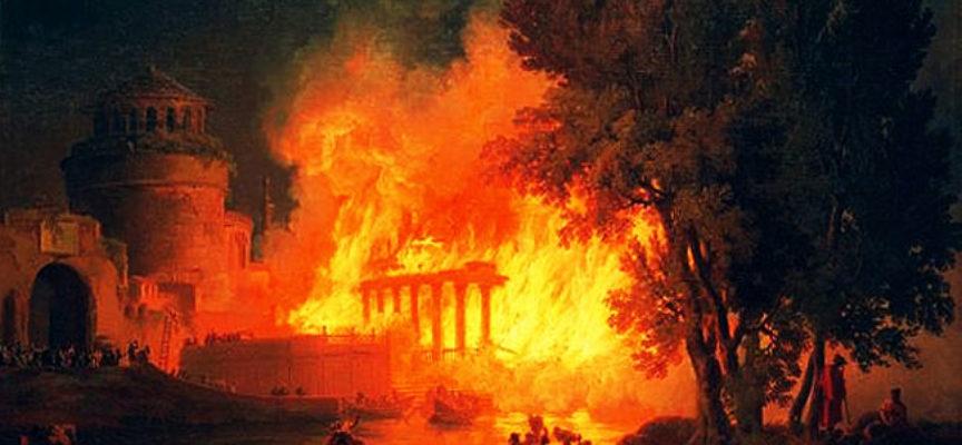 Accadde oggi, 18 Luglio: 64 d.C., l'incendio di Roma