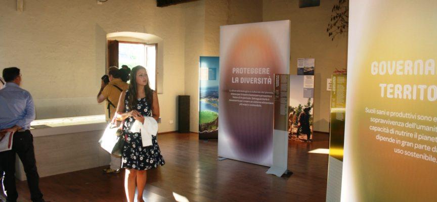 Inaugurata Venerdi nellasplendida cornice della Fortezza Mont'Alfonsola mostra UNESCO Behind Food Sustainability