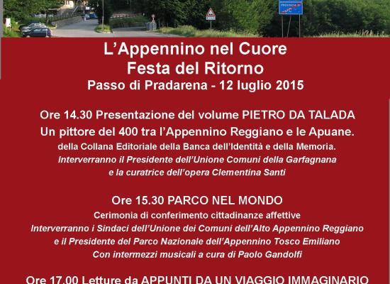 Domenica 12 luglio grande evento al Passo di Pradarena