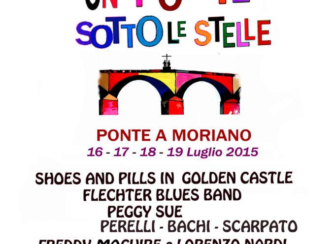 """Un """"Ponte"""" sotto le Stelle: a Ponte a Moriano 4 giorni di musica e spettacolo"""
