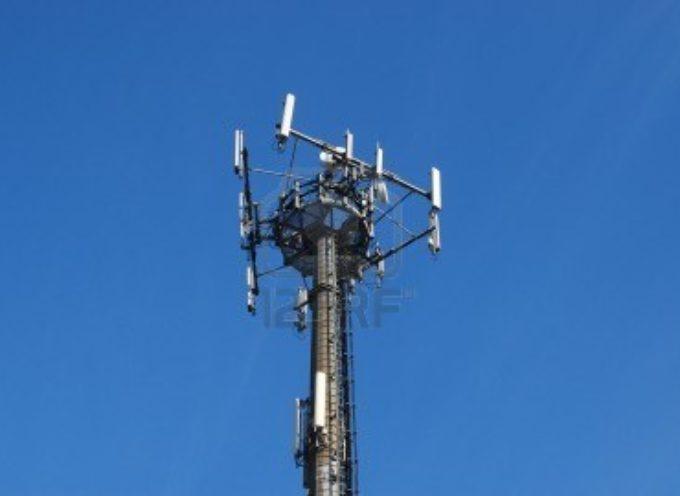 Nuova antenna di telefonia a Sant'Anna