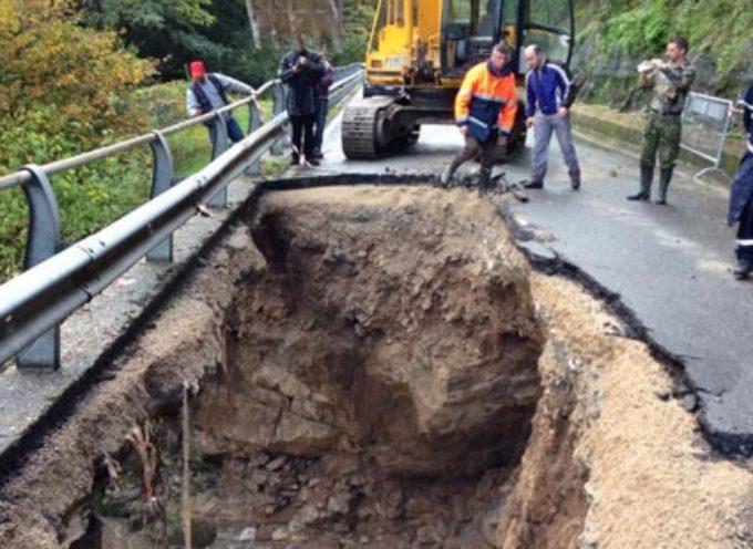"""Completati i lavori di ripristino della strada statale 12 """"dell'Abetone e del Brennero"""" nel comune di Borgo a Mozzano"""