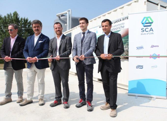 SCA Italia presenta il suo primo Bilancio Sociale e inaugura due nuovi impianti per una maggiore sostenibilità