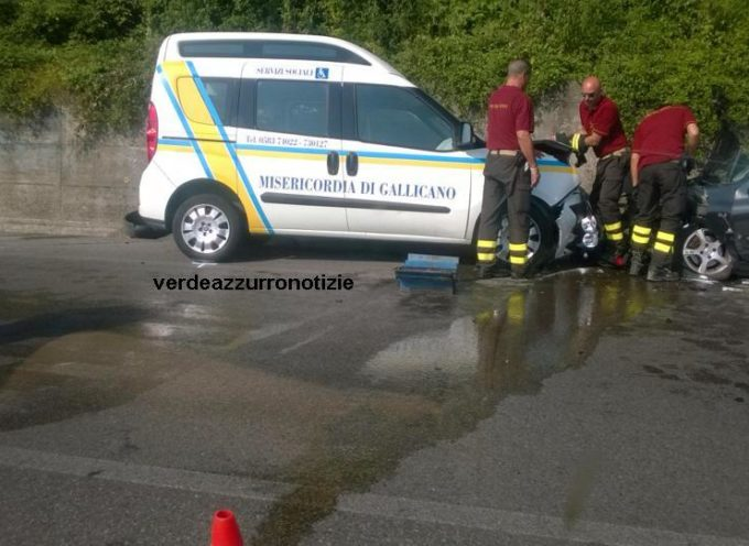Drammatico incidente a Gallicano