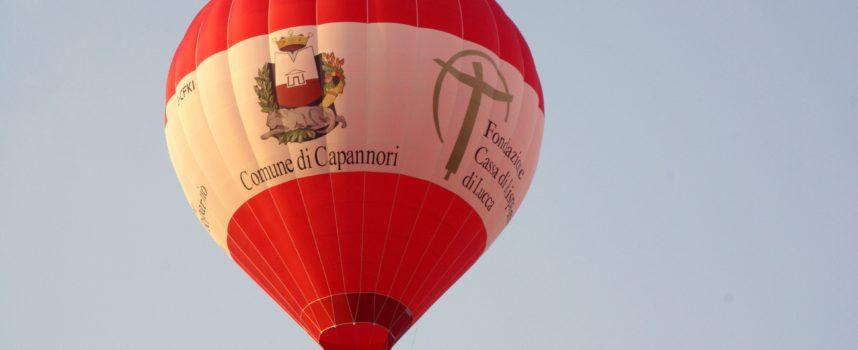 LA MONGOLFIERA DI CAPANNORI IN FRANCIA  PER STABILIRE UN NUOVO RECORD DEL MONDO