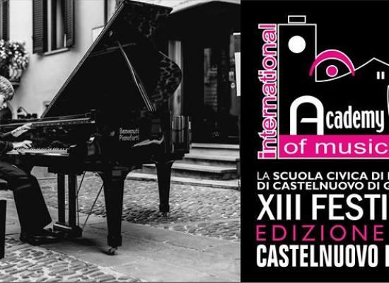 Grandi concerti a Castelnuovo con l'International Academy of Music Festival
