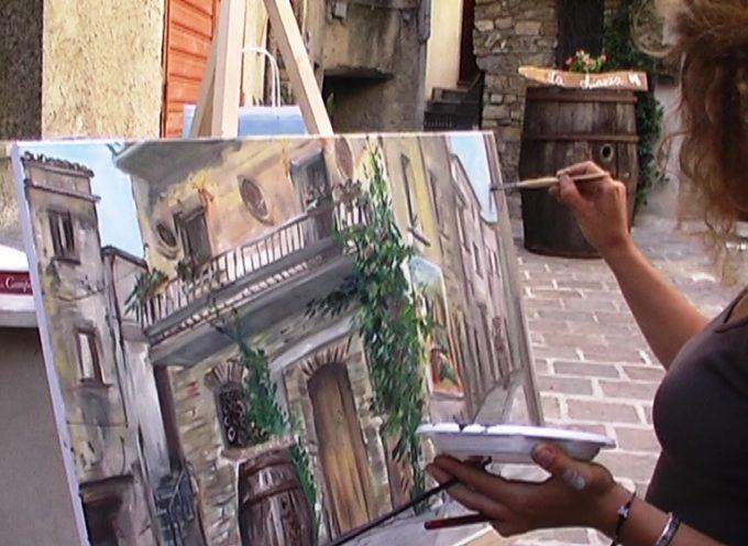 Corfino 2 agosto, il Parco Nazionale scende in piazza tra artisti e appassionati alla mostra di pittura estemporanea