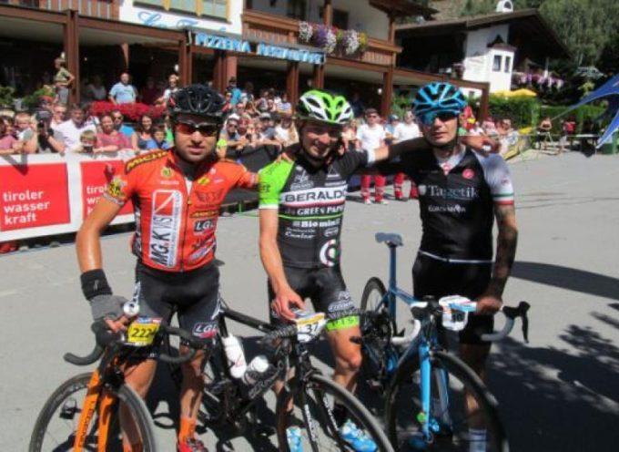 Sfiora il successo il lucchese Cecchini nella corsa ciclistica più dura delle Alpi