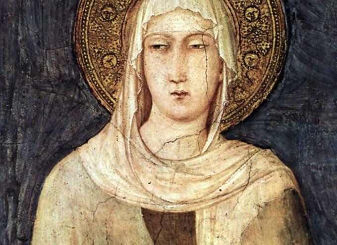 Il santo del giorno, 11 Agosto: S.Chiara d'Assisi