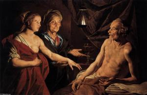 19 ago Matthias-Stom-Sarah-Leading-Hagar-to-Abraham-2-