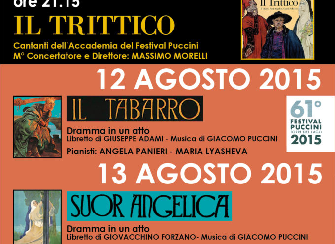 IL TRITTICO (Accademia del Festival Puccini) a Bagni di Lucca