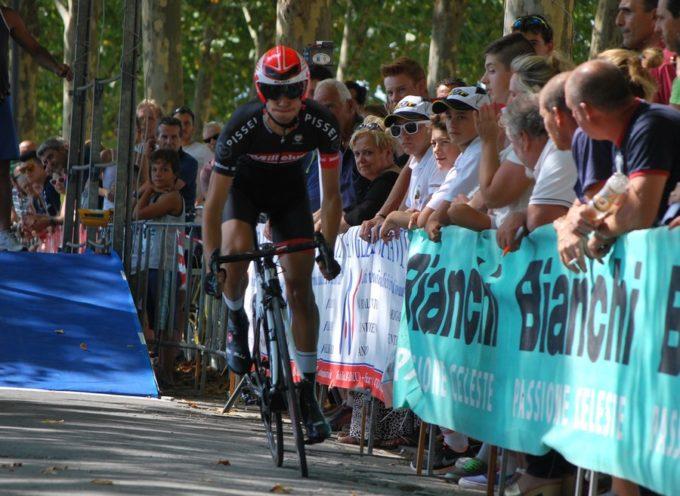 Ciclismo spettacolo ieri a Lucca per i Campionati Regionali del cronometro