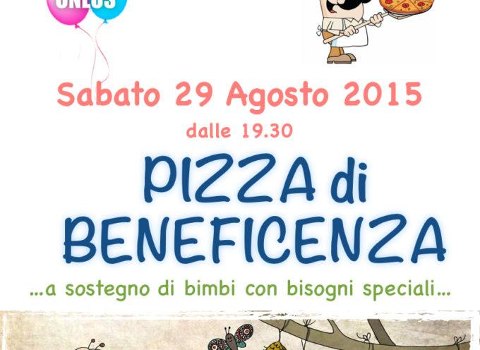 Pizza e solidarietà a favore dei bambini disabili a Casciana di Camporgiano