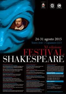 Festival Shakespeare manifesto con programma