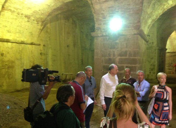 """La """"sortita"""" di Tambellini: ricavare incantati spazi sotto le Mura e renderli produttivi!"""