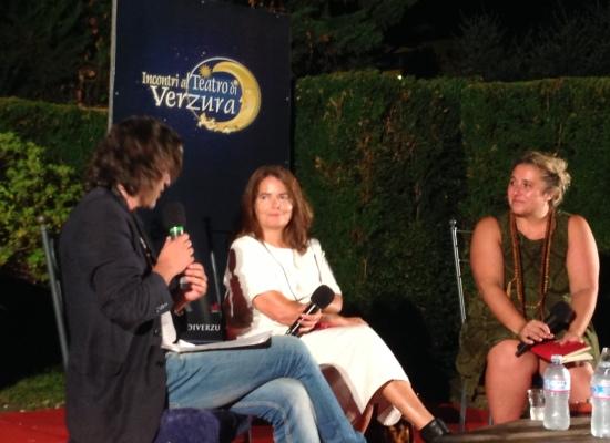 Nada, cantante, attrice, e vera donna incanta il Teatro di Verzura!