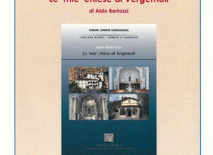 """""""Le """"mie"""" chiese di Vergemoli"""" di Aldo Bertozzi, il nuovo volume della Banca dell'Identità e della Memoria per leggere in modo diverso l'eredità cristiana in Garfagnana"""
