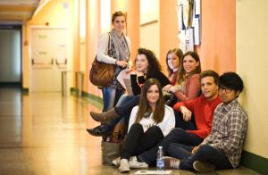 Studenti stagisti di Fondazione Campus