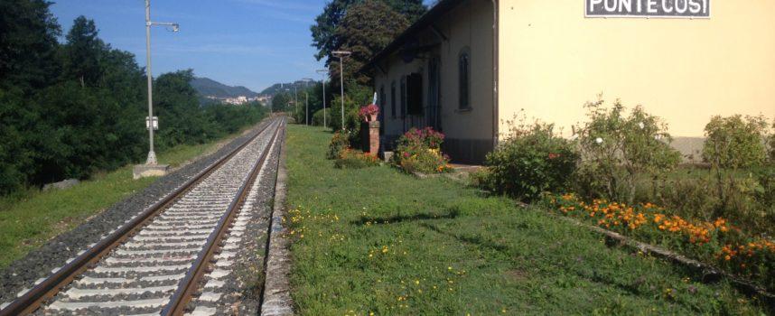 Domenica alle ore 17.30 transiterà il 1° Treno nel tratto fra Fornaci di Barga e Piazza al Serchio