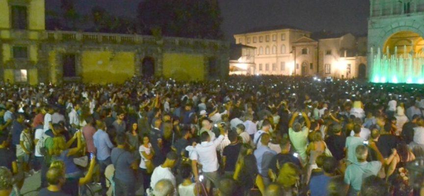 NOTTE BIANCA, UN TRIONFO: OLTRE 80 MILA PRESENZE IN CITTA'