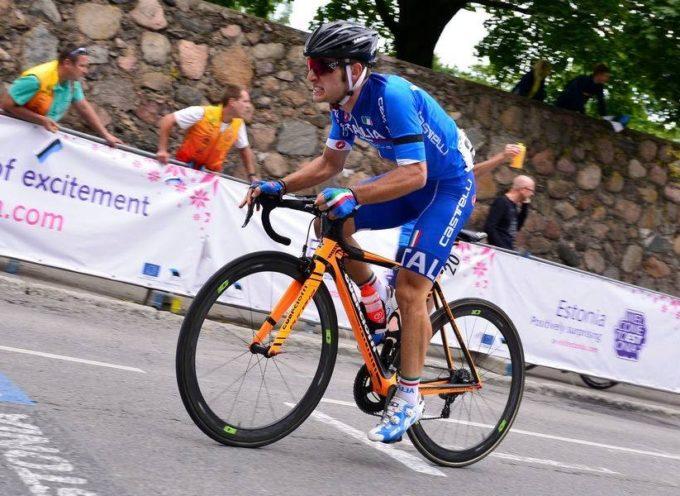 Bella prestazione di Nicolas Nesi al Campionato Europeo di ciclismo su strada Juniores