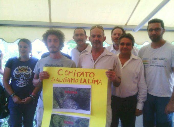 Presentato un ricorso alla Provincia di Lucca contro la centralina sulla Lima
