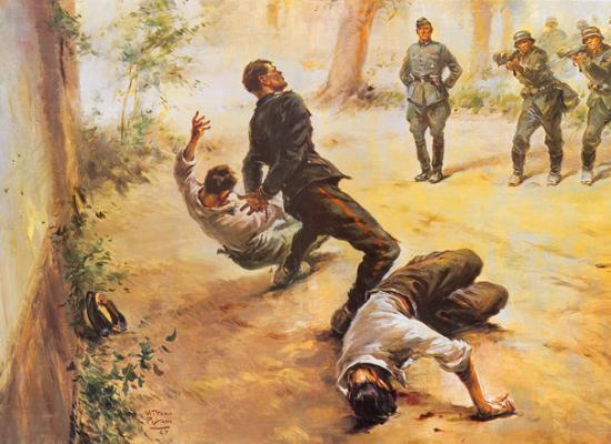 12 Agosto 1944, i tre Carabinieri Martiri di Fiesole