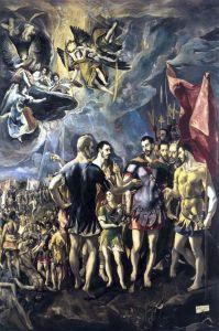 22 sett El_Greco-The_Martyrdom_of_St_Maurice