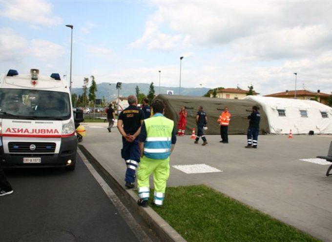 Esercitazione di evacuazione al San Luca