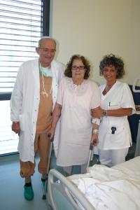 26-09-2015 Paziente con Gallacci e fisioterapista