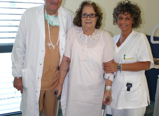 A Lucca di routine anche gli interventi di protesi di anca bilaterale