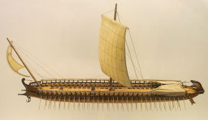 29 sett Model_of_a_greek_trireme