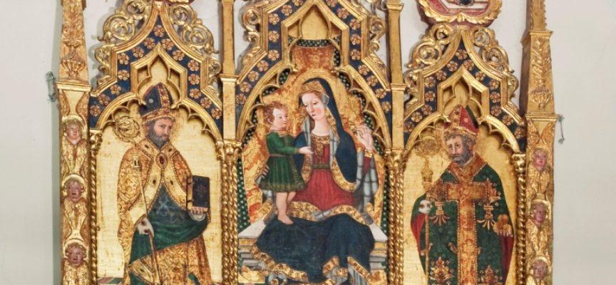 il 20 settembre saranno inaugurati il portone ed il portale della chiesa parrocchiale di Borsigliana
