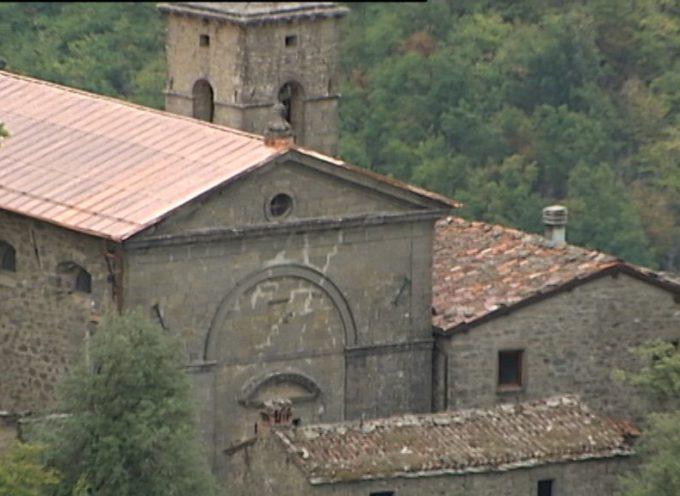 Inaugurato il tetto all'Eremo di Capraia