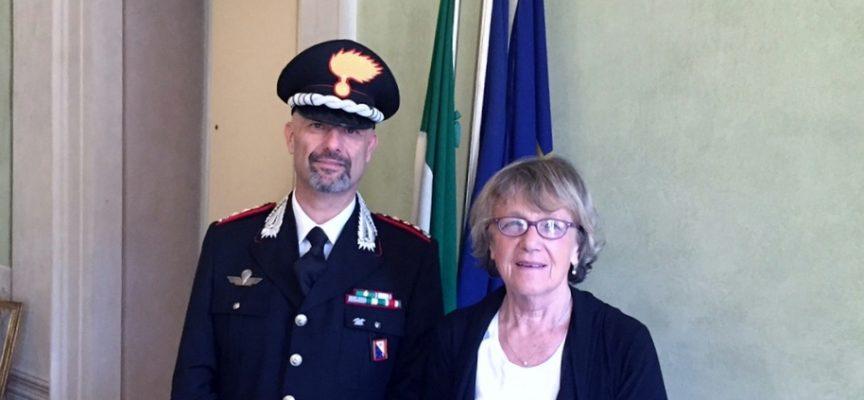 Il Colonello MARCO ROSI in visita a Palazzo Ducale