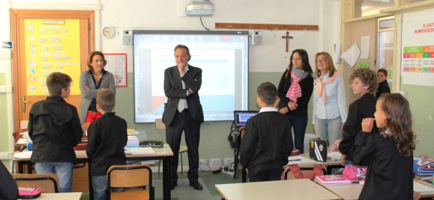 Castelnuovo di Garfagnana, Sindaco ed Assessore in visita alle scuole elementari