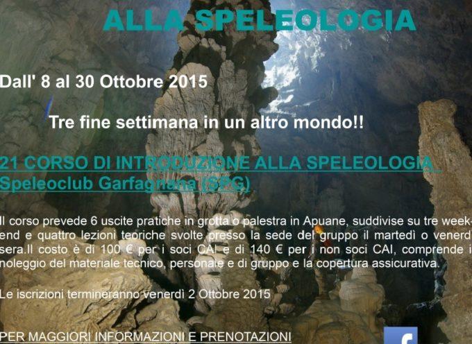 Parte in Garfagnana un corso di introduzione alla Speleologia