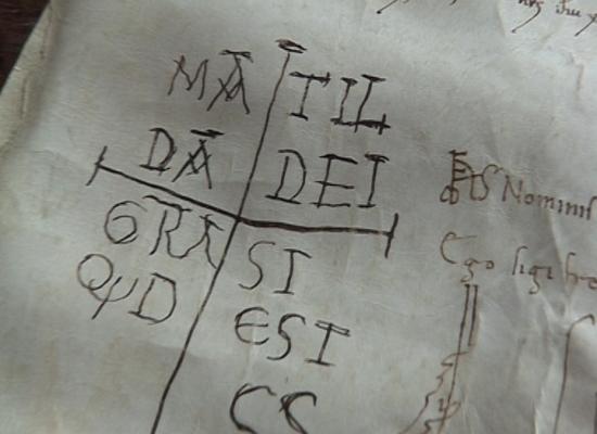 Le antiche pergamene in mostra e la firma di Matilde, forse nata proprio a Lucca!