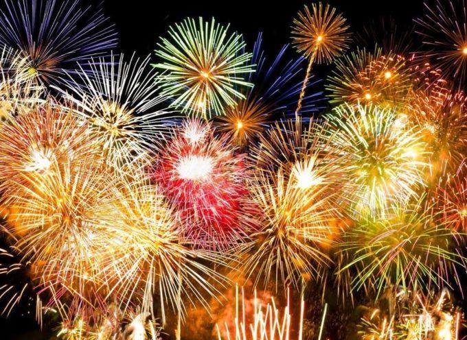 Fuochi d'artificio: lo spettacolo sabato 26 settembre
