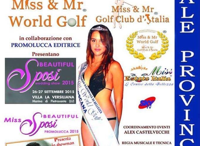 Finale provinciale di Miss World Golf alla Versiliana