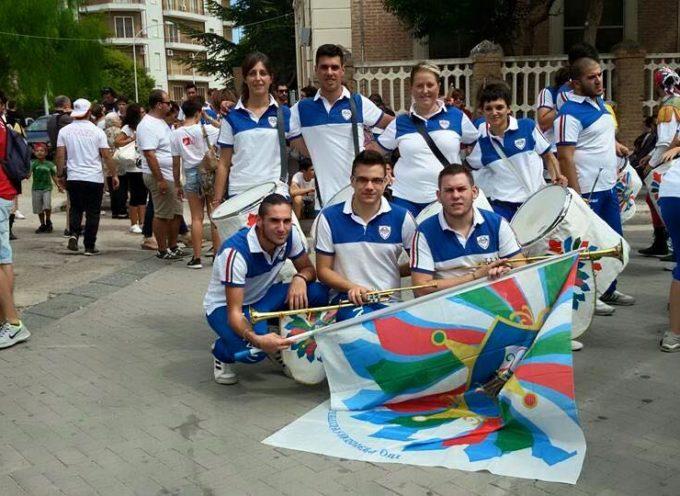 Sbandieratori e Musici di Gallicano in evidenza alla Parata Nazionale di Bandiera