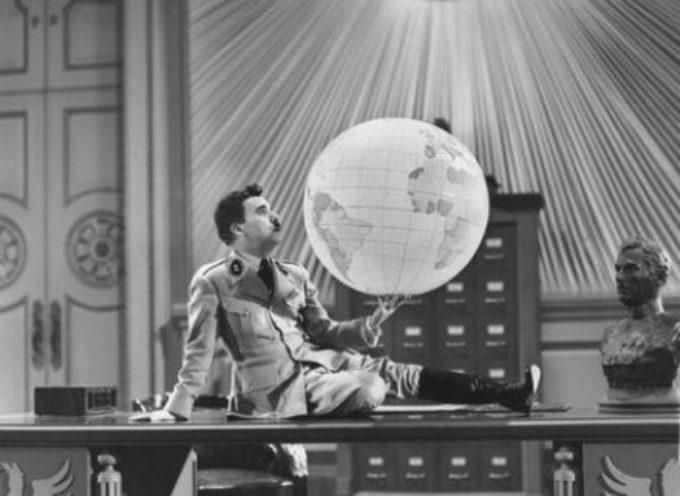 """accadde oggi 15 Ottobre 1940, esce """"Il Grande Dittatore"""" di Charlie Chaplin"""