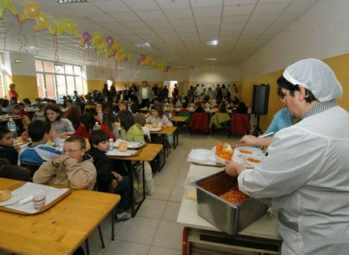 L'amministrazione comunale interviene sul servizio di ristorazione scolastica