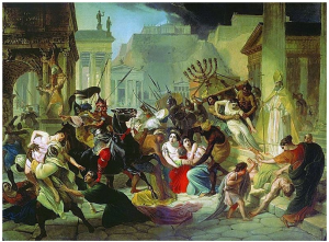 Genseric sacking Rome(1)