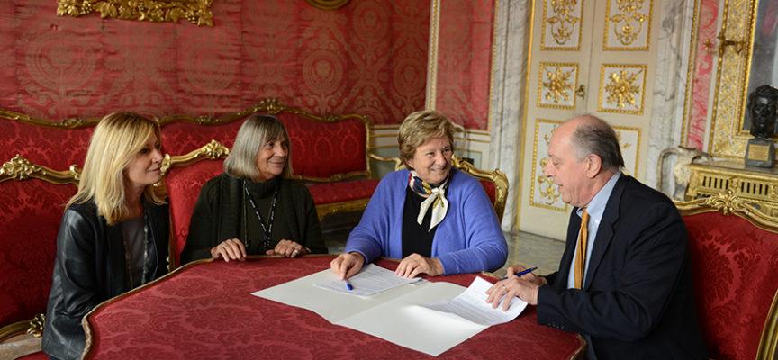 """Lucca città napoleonica:  firmato il protocollo di intesa tra Comune  e associazione """"Napoleone ed Elisa: da Parigi alla Toscana"""""""