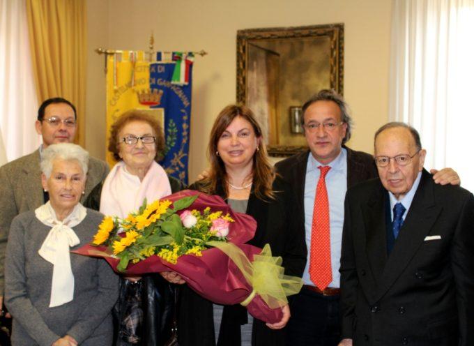 Castelnuovo di Garfagnana, Tagliasacchi incontra Anna Rita Bilia