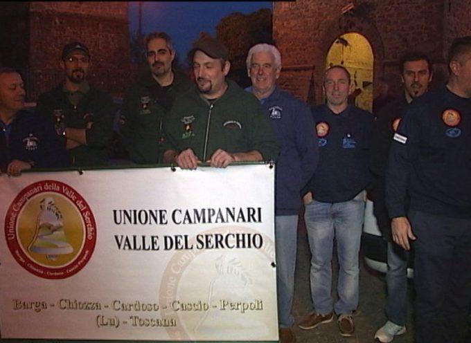 Campanari in Inglesi in visita a Barga e a Cascio – Unione Campanari Valle del Serchio